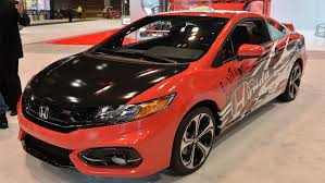 custom honda civic si 2014 chicago auto show honda builds custom civic si based on