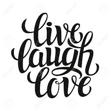 love live laugh hand drawn typography poster inspirational quote live laugh