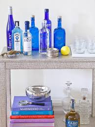 stocking the bar for a cocktail party hgtv