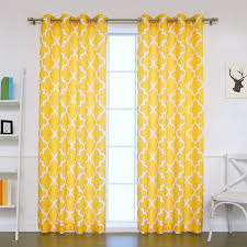 Yellow Sheer Curtains Yellow Patterned Curtains 100 Images Yellow Patterned Curtains