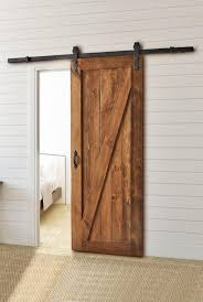 Diy Barn Door Track by People Use Barn Doors To Separate Rooms Enclose Closets Enclose