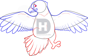 how to draw an easy eagle step by step drawing guide by