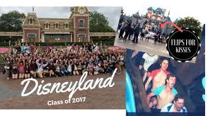 high school senior trips disneyland vlog senior trip grad 2017 happiest place on