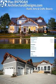 2300 Sq Ft House Plans 105 Best Craftsman House Plans Images On Pinterest Craftsman