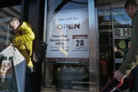 more stores longer hours for thanksgiving shopping daily news