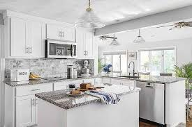 what color countertop goes with white cabinets white kitchen cabinets and countertops a style guide