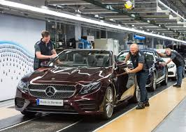 mercedes benz kicks off new e class cabriolet production
