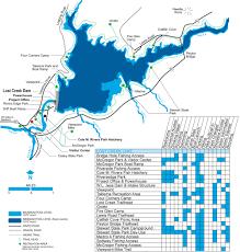 Lake Sakakawea Map Corps Lakes Gateway Oregon Lost Creek Lake