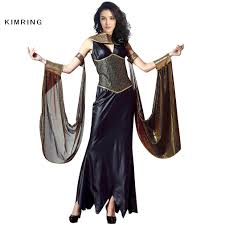 queen halloween costumes adults aliexpress com buy kimring egyptian cat goddess costume