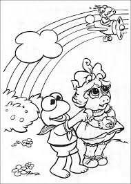 kids fun 57 coloring pages muppet babies