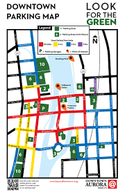 Casinos In Illinois Map by Downtown Aurora Parking Map Aurora Downtown