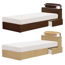 Box Bed Frame With Drawers Dreamrand Rakuten Global Market Only Single Bed Frame Single