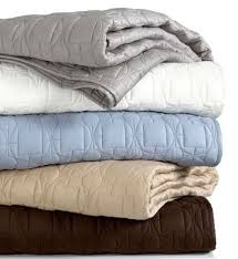 Ivory Quilted Bedspread Hotel Collection Deco Quilted Ivory Queen Coverlet