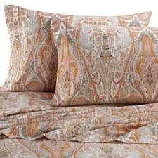 pattern queen sheet buy paisley sheets bedding from bed bath beyond