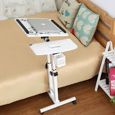 Laptop Desk Foldable Computer Table Adjustable Portable Laptop Desk Rotate