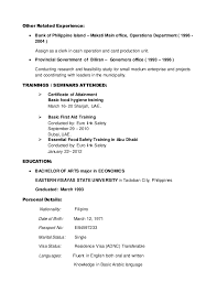 Chef Resume Objective Examples by Renato New Cv Updated October2014