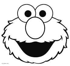 printable elmo coloring pages kids cool2bkids