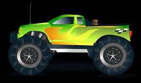monster truck drawing side view marycath info