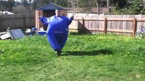 fat suit halloween morphsuit frontflip youtube