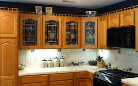 Kitchen Cabinet Doors Glass Black Kitchen Cabinets With Glass Inserts Video And Photos