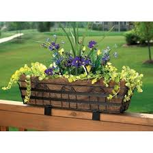 best 25 railing planters ideas on pinterest hanging basket