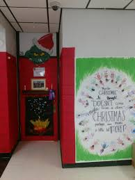 Central Magnet teachers hold door decorating contest