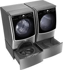 Dark Matter Pedestal Lg Dlex9000v 29 Inch 9 0 Cu Ft Electric Dryer With Turbosteam