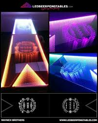 Custom Beer Pong Tables by Customize Your Beer Pong Table Infinity Beer Pong