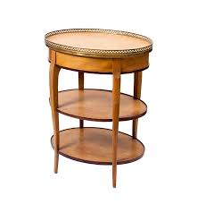 french chateau style cassard chateau french style side table ebth