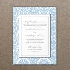 damask wedding invitations damask wedding invitation template print