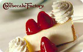 Buy Giftcards With Paypal by Buy The Cheesecake Factory Egift Cards With Paypal