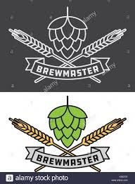 beer vector brewmaster craft beer vector design icon or logo graphic shows