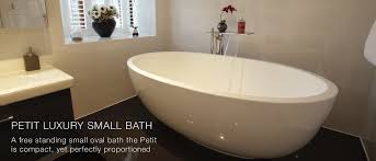 freestanding bathtub oval composite stone rosebud