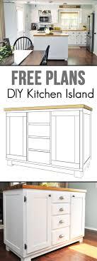 kitchen island plans best 25 build kitchen island ideas on build kitchen