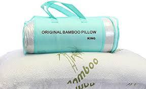 Hotel Comfort Memory Foam Pillow Memory Foam Pillow King Original Bamboo Better Than Marriott