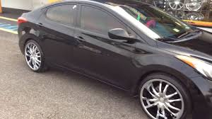 rims for hyundai accent 2012 hyundai elantra stepping out on 20 vct bossini s rimtyme