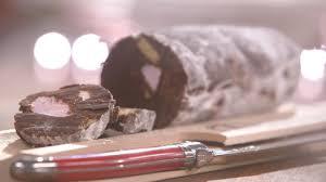 mytf1 cuisine laurent mariotte recette de saucisson au chocolat petits plats en equilibre
