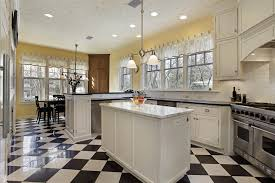 Yellow Kitchen With White Cabinets - eclectic mix of 42 custom kitchen designs