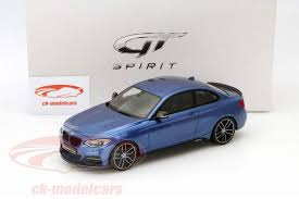 bmw 2015 model cars ck modelcars zm058 bmw m235i m performance year 2015 blue 1 18