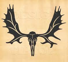 moose skull svg elk skull animal skull moose head animal skull