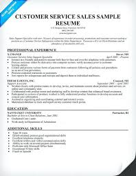 sample resumes customer service representative cover letter retail