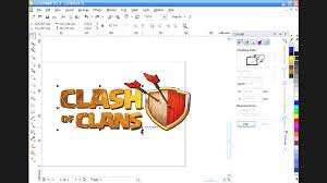 tutorial corel draw power clip tutorial clash of clans how to use power clip in coreldraw