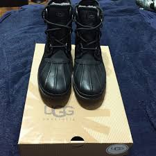 ugg wynona sale 33 ugg shoes ugg cecile black waterproof lace up boots from