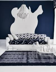 Dark Blue Living Room by Use Paint To Create A Living Room Brimming With Character The