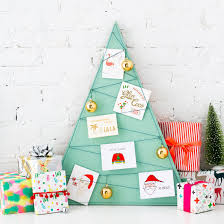12 cool ways to display your christmas cards brit co