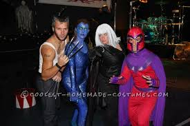 Magneto Halloween Costume Homemade Men Group Halloween Costume Group Halloween