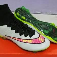 Sepatu Bola Grade Ori sepatu bola nike mercurial superfly iv white stabilo terbaru dan