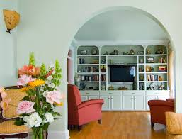 Enclosed Bookcases Bookcases With Arched Top Houzz