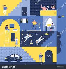 House Flat Design House Vector Illustration Flat Design Stock Vector 675002371