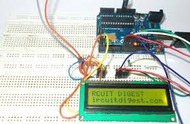 16x2 lcd interfacing with arduino uno circuit diagram and c code